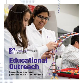 Cover image of the Educational Outreach Brochure