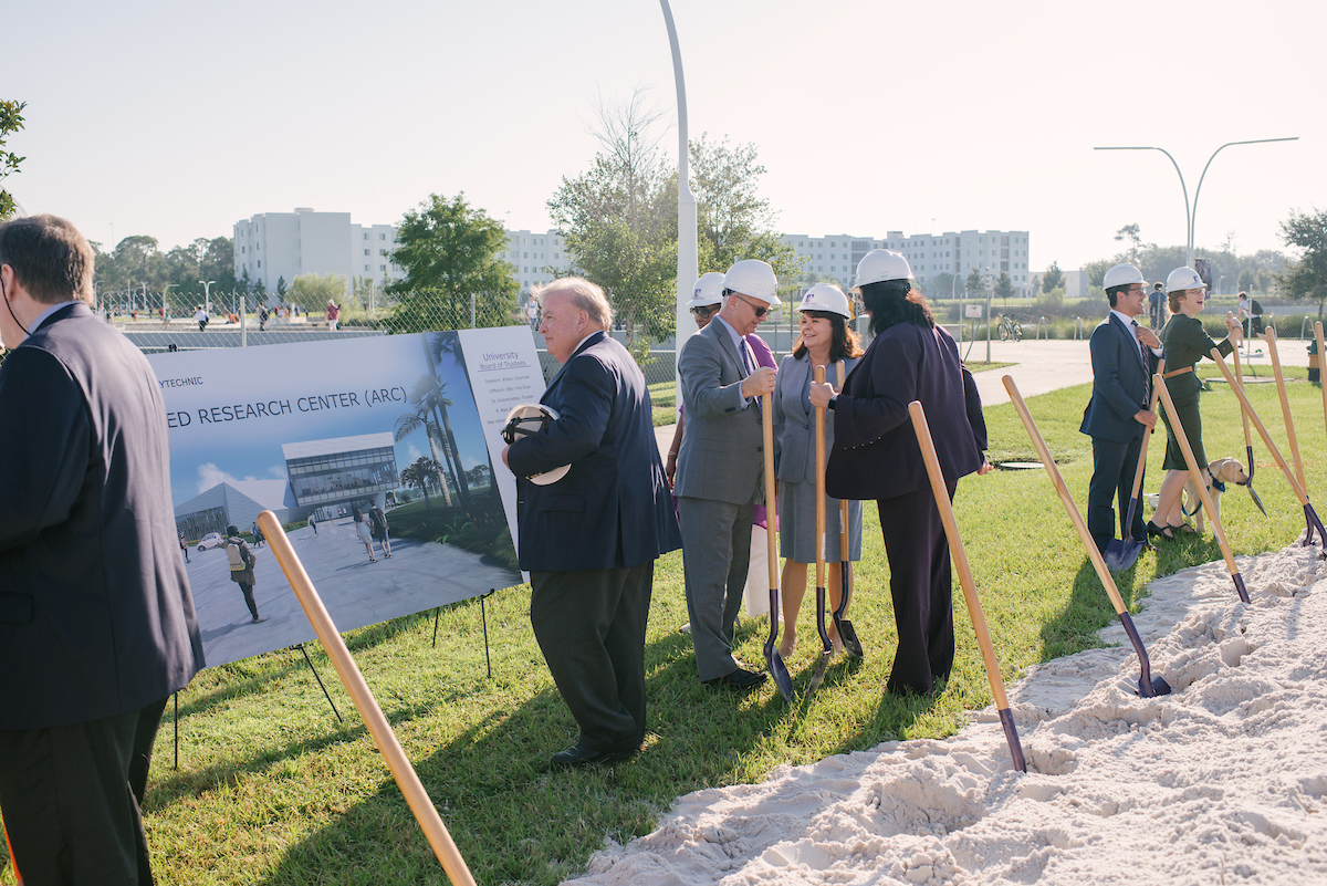 ARC groundbreaking