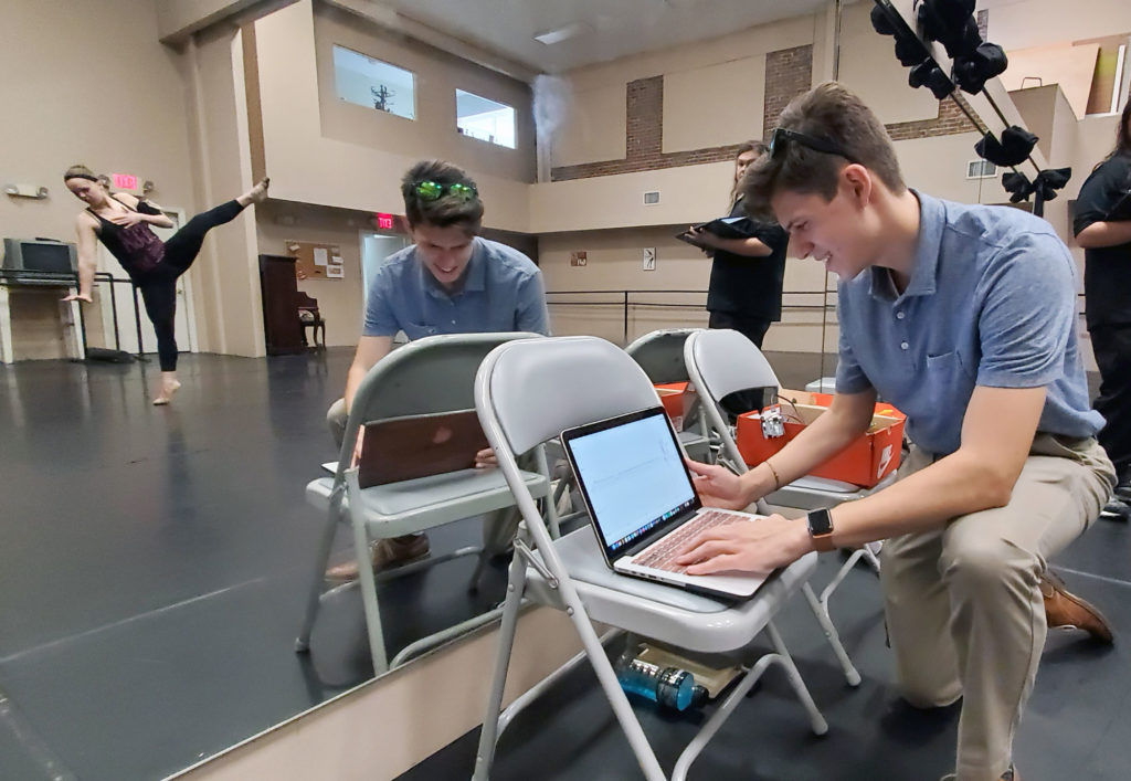 Florida Poly engineering students add a new dimension to dance
