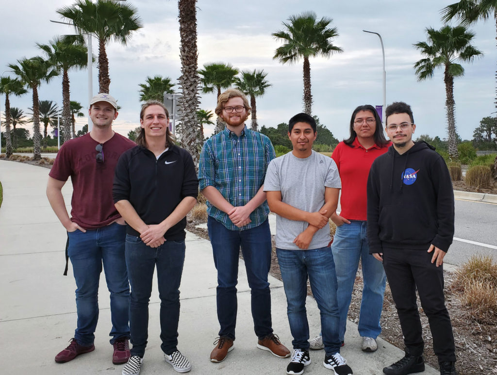 Florida Poly students work to revolutionize palm tree trimming
