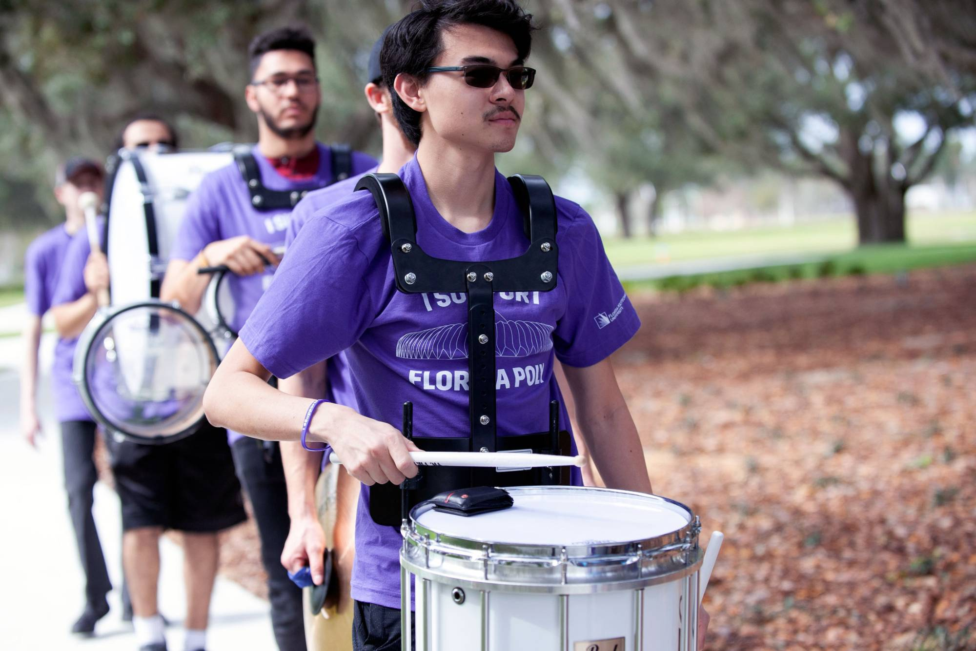 Florida Poly's new Scatter Band prepares to soar