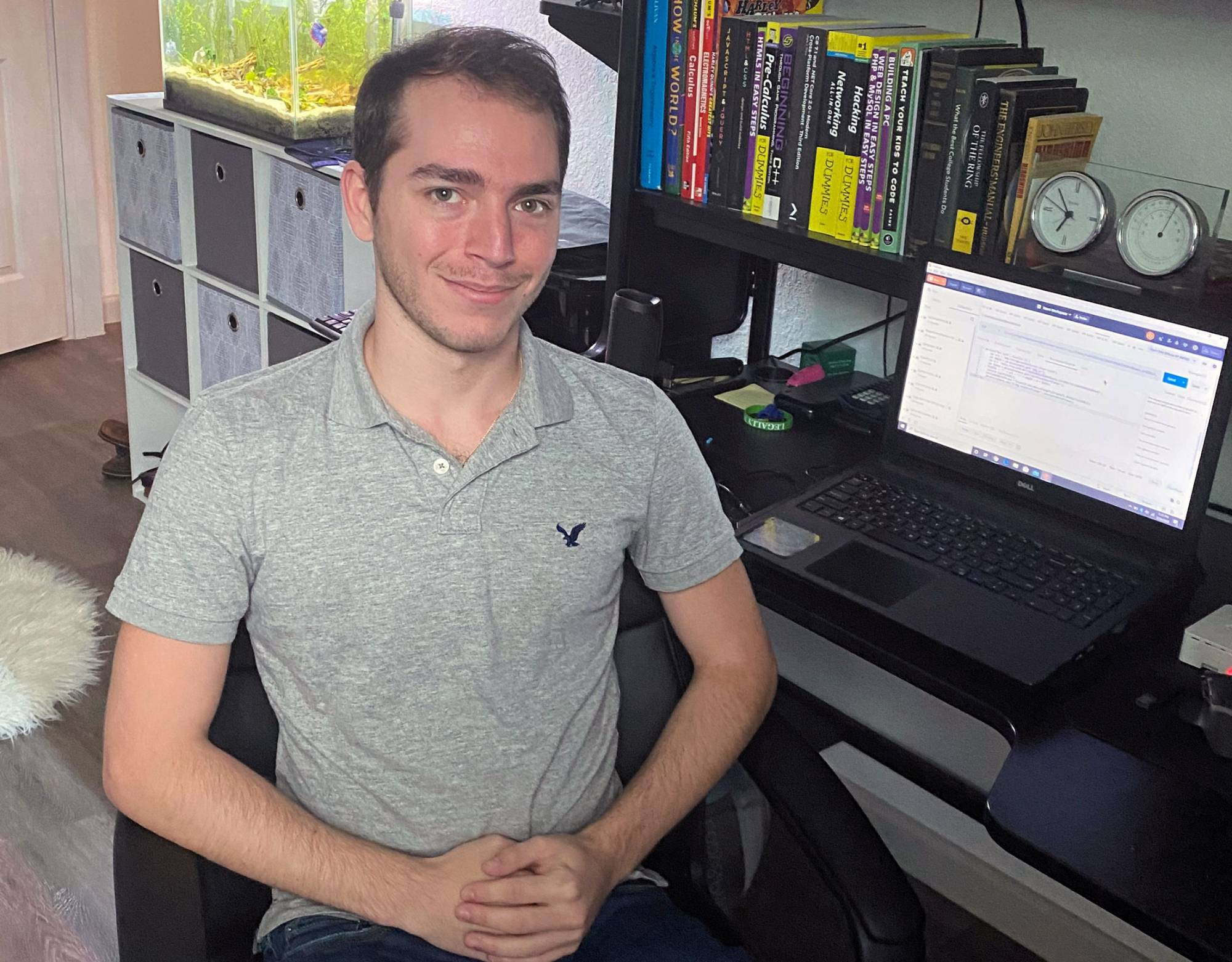 Internship sparks excitement for remote coding work
