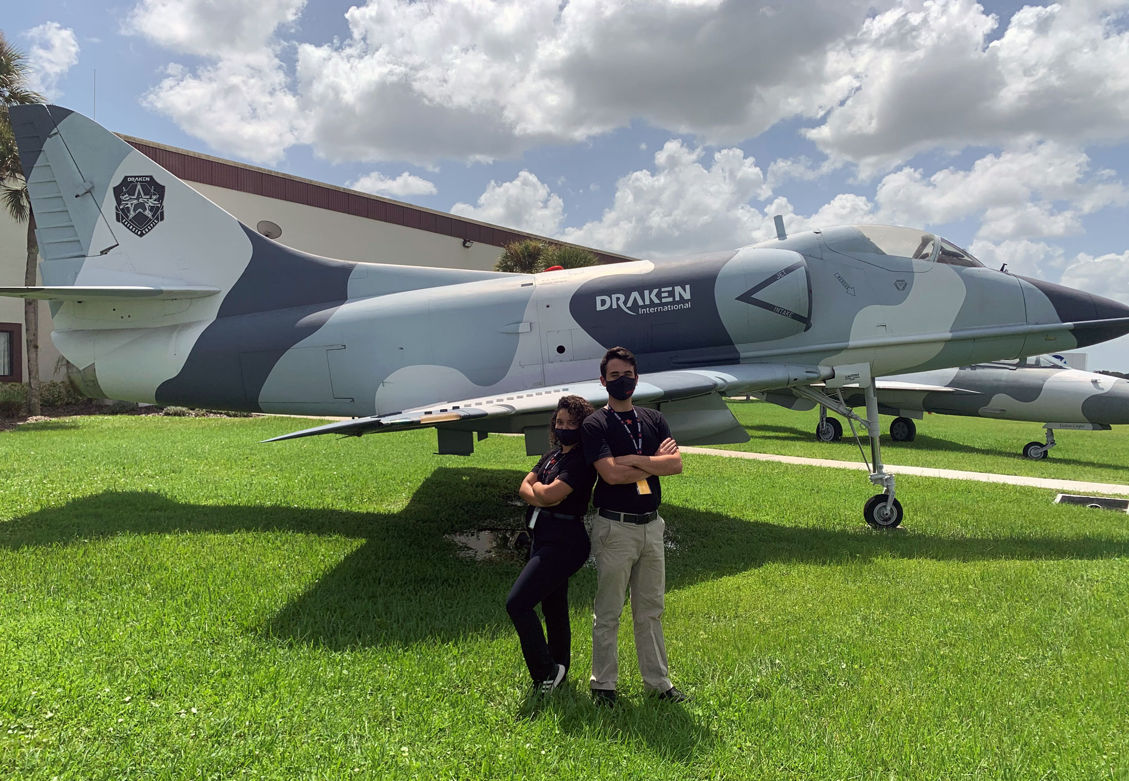 Sky's the limit for students in tactical fighter aircraft internship