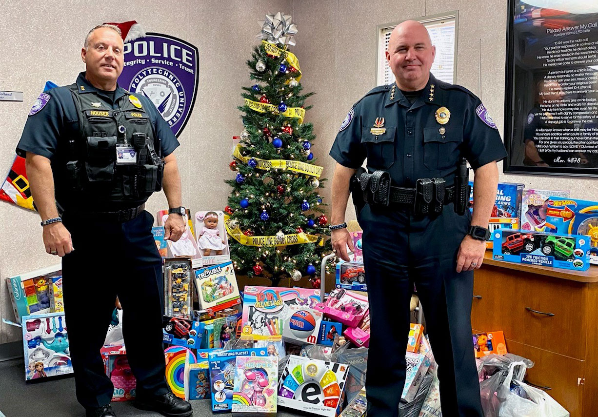 Annual Florida Poly toy drive brings cheer to Lakeland pediatric patients