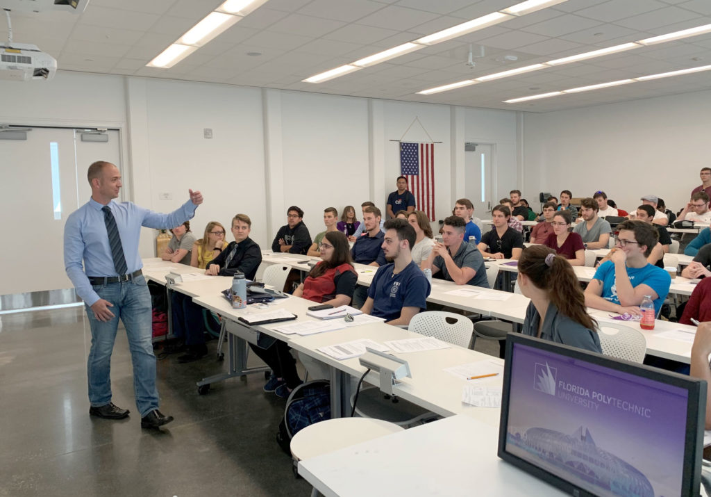 Leadership takes center stage for students at Florida Poly