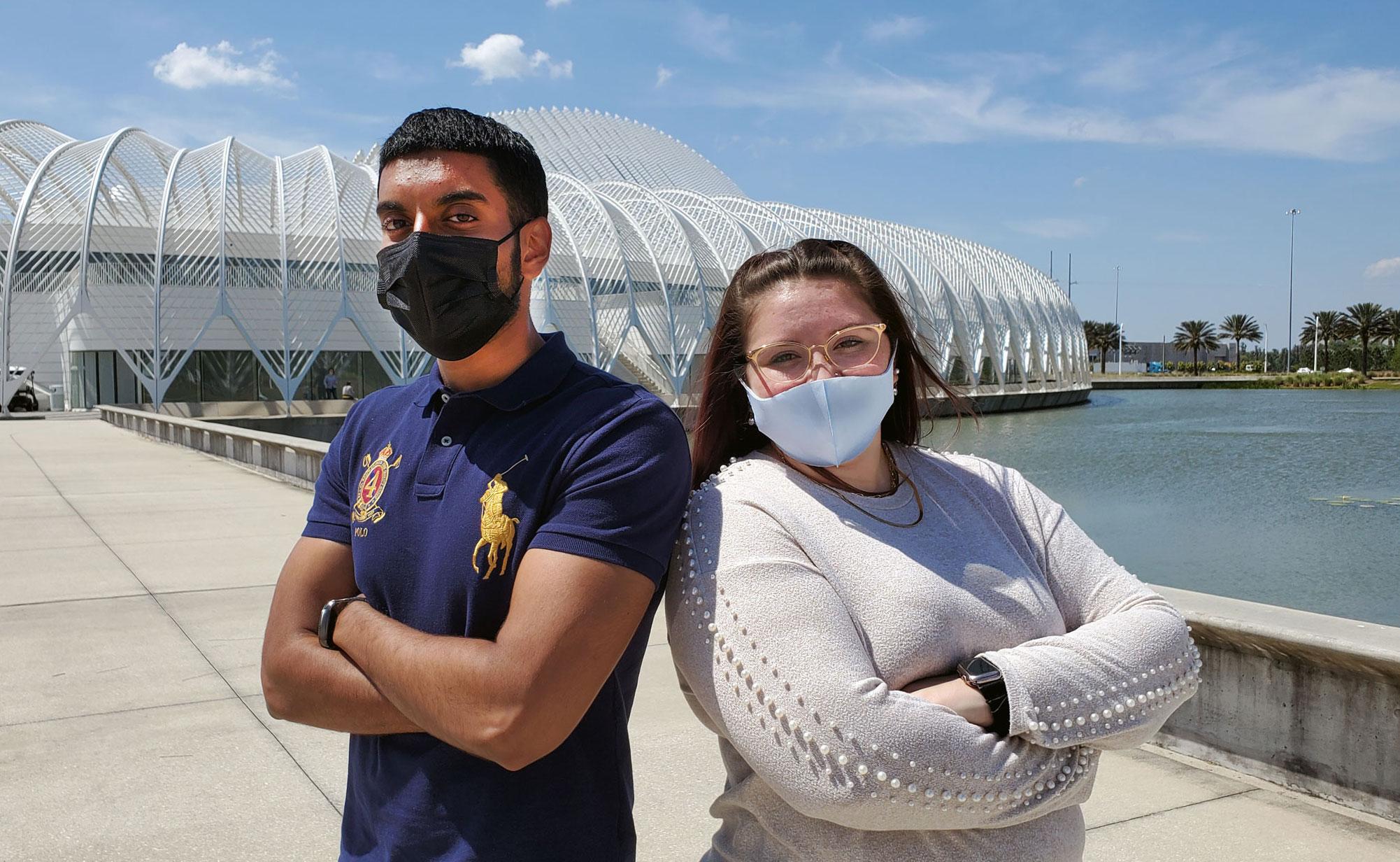 Florida Poly students win prestigious X-Force fellowships