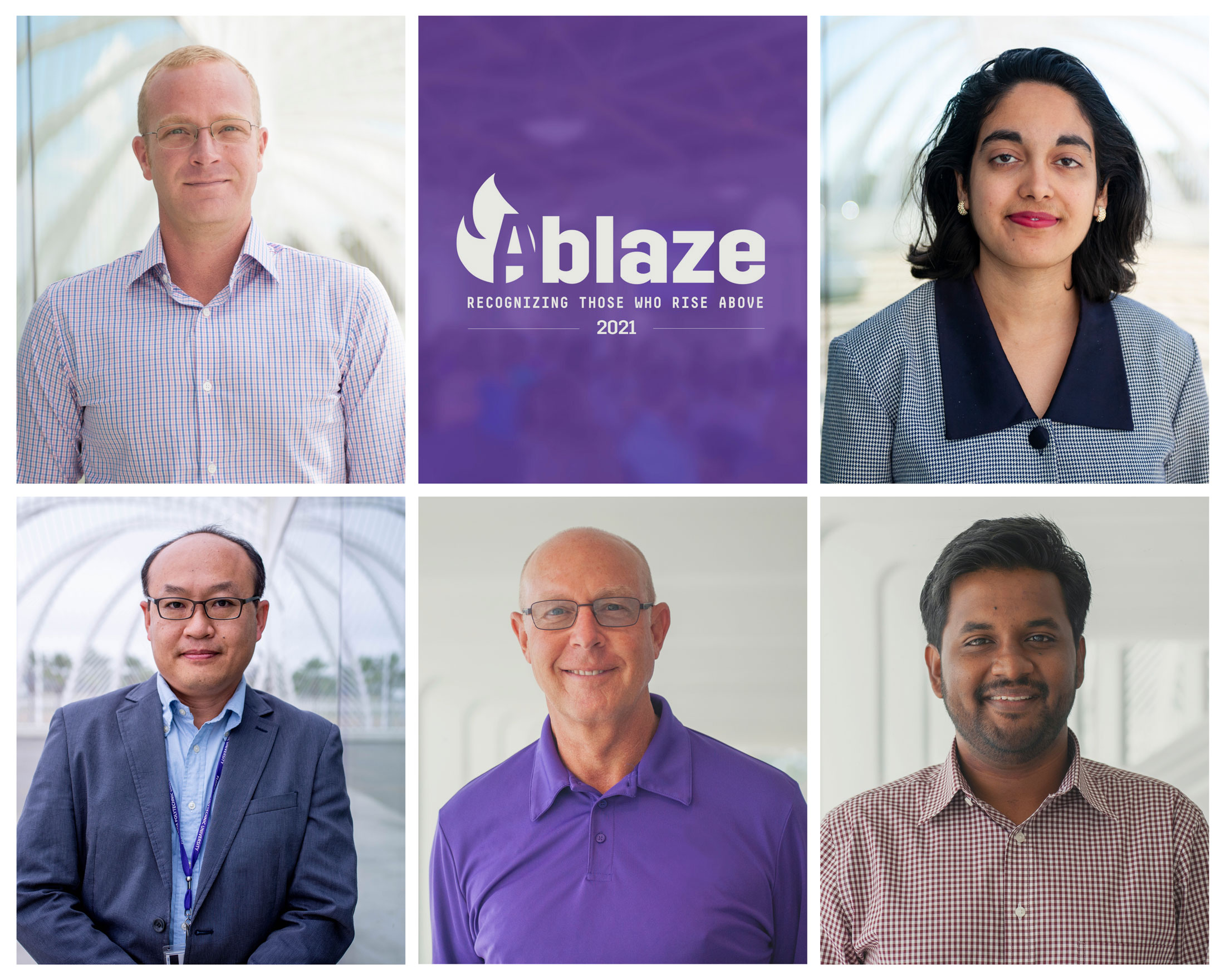 2021 Ablaze awards honor outstanding employee contributions at Florida Poly