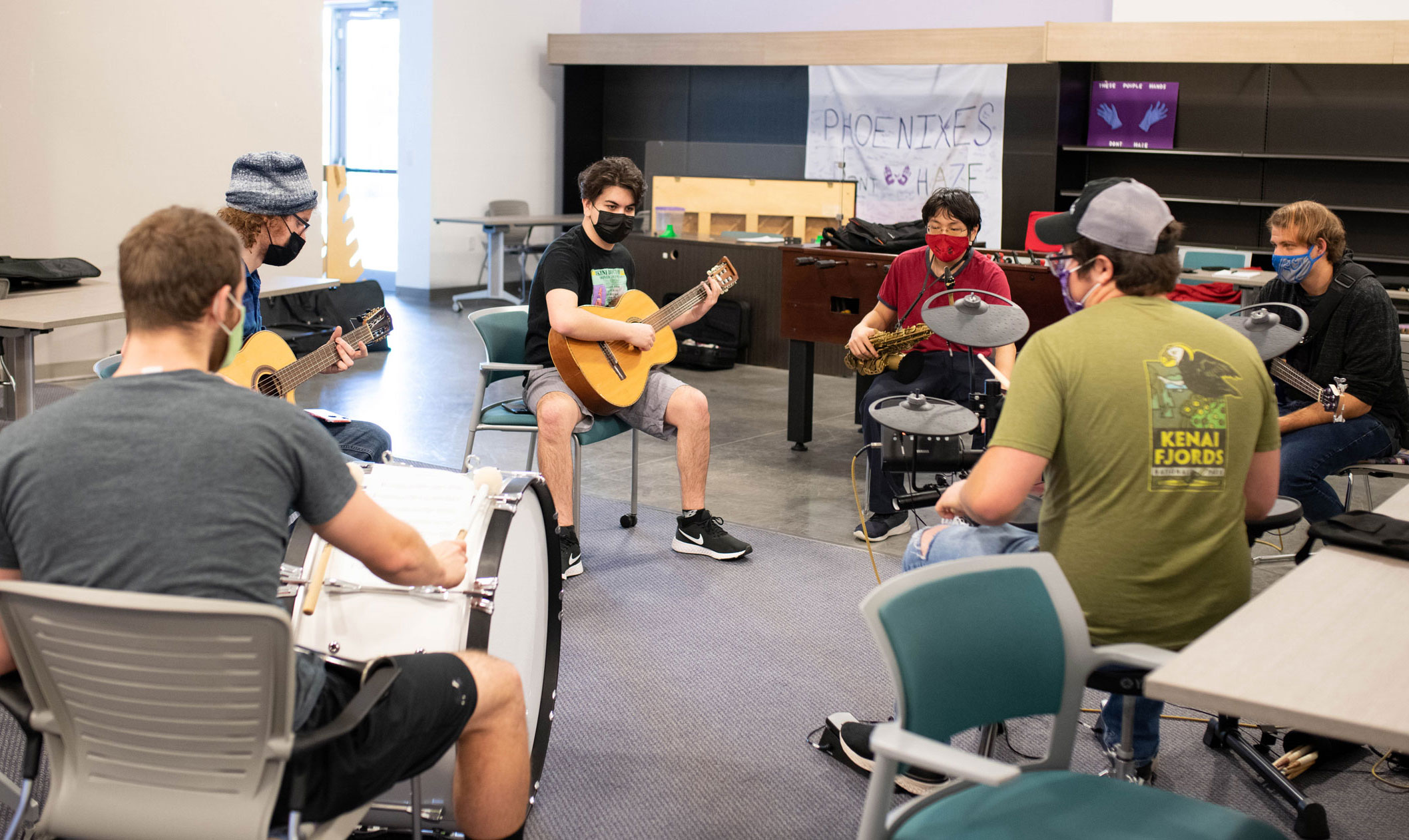 Music Club strikes a chord within Florida Poly students