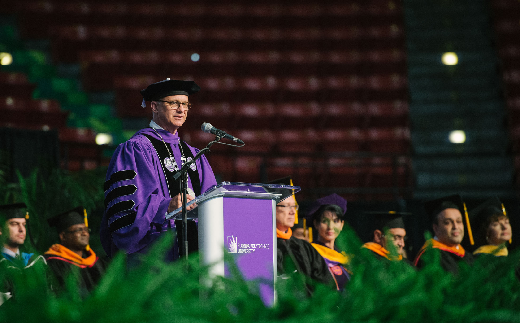 Florida Poly president appointed to prestigious European academy of doctors