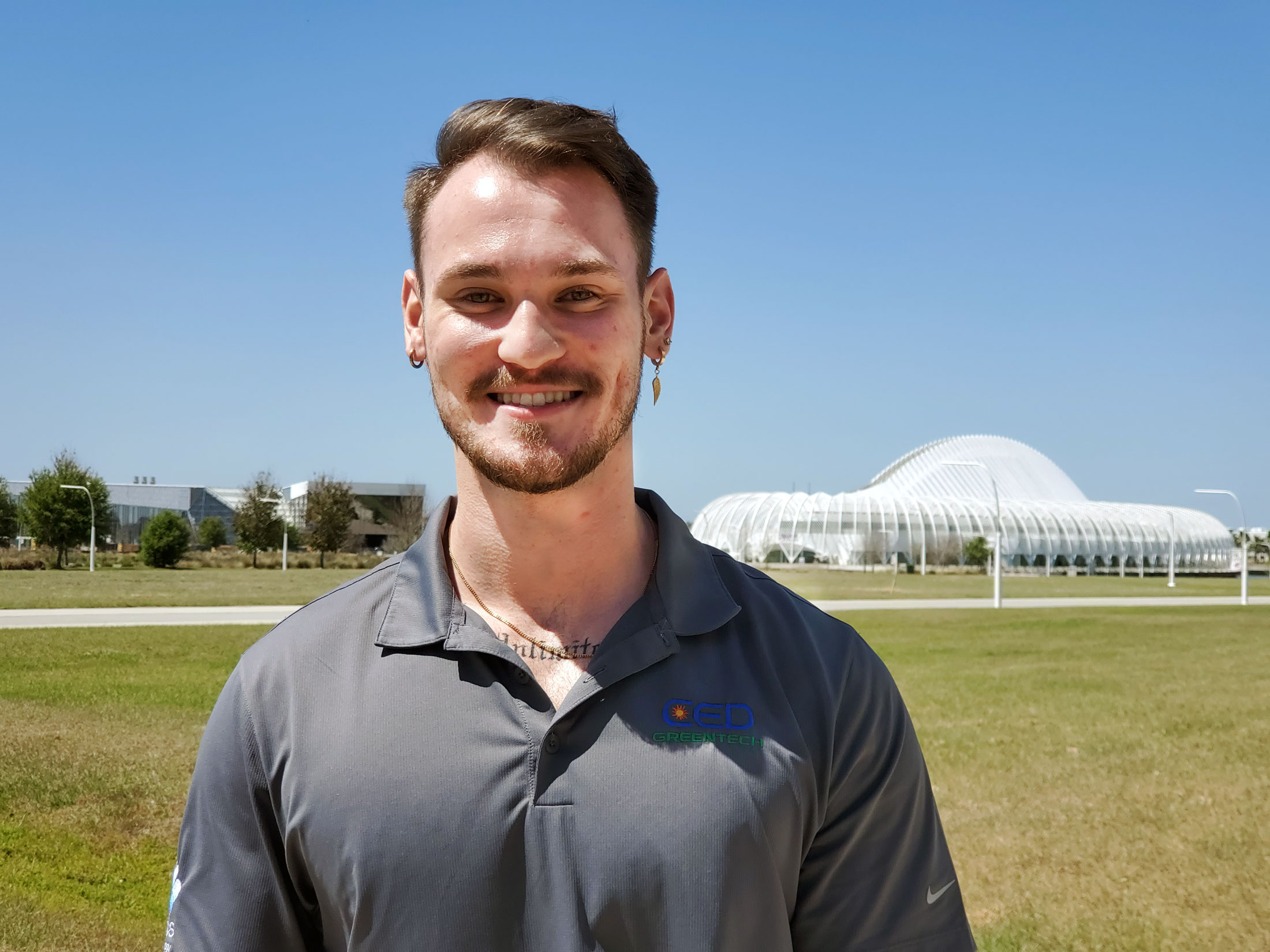 Alum finds success with major solar technology company