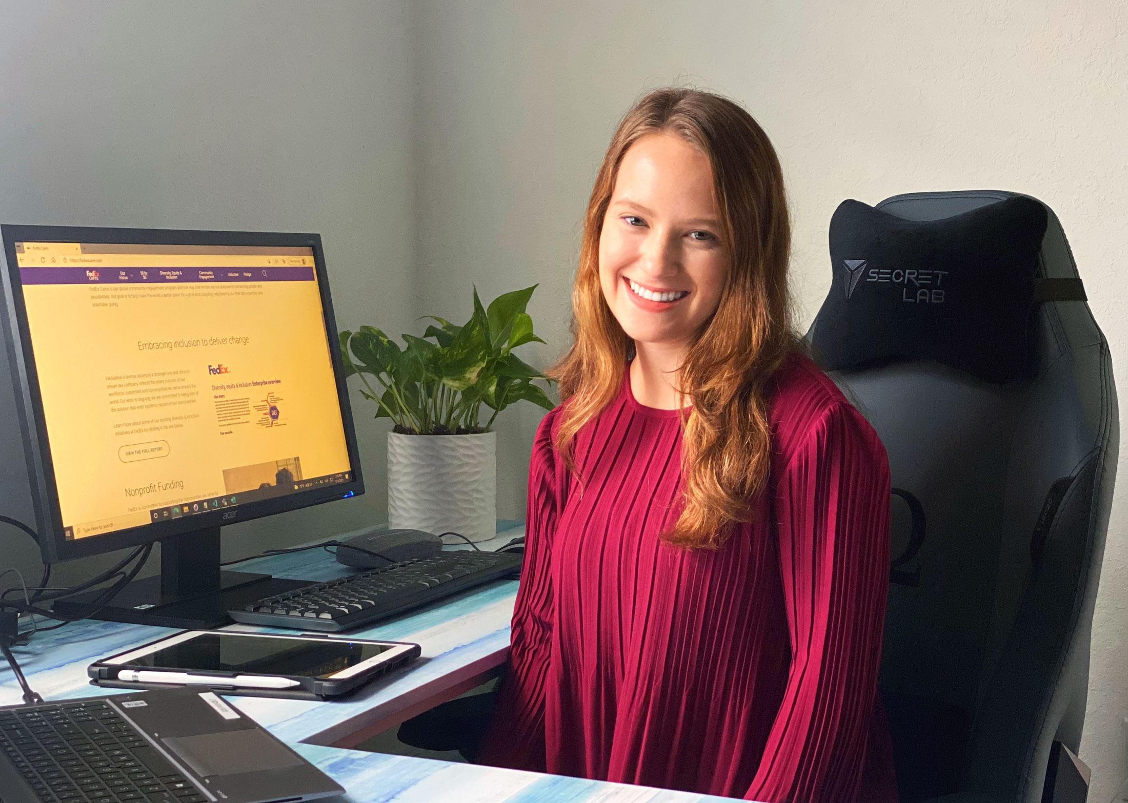 FedEx position sets the stage for alumna's long-term professional success