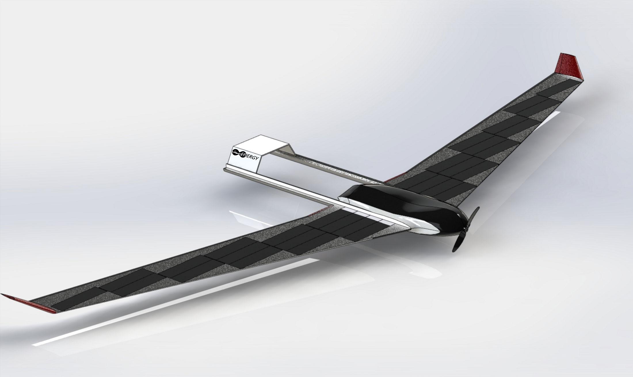 Students' solar-powered drone idea takes flight
