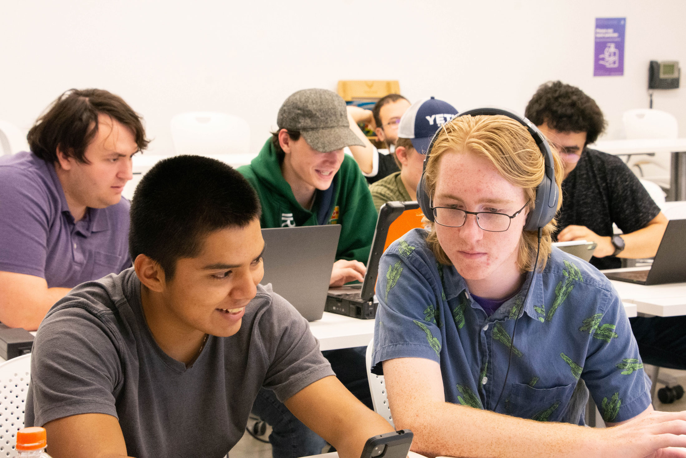 Cybersecurity Club combines enhanced digital learning with social fun