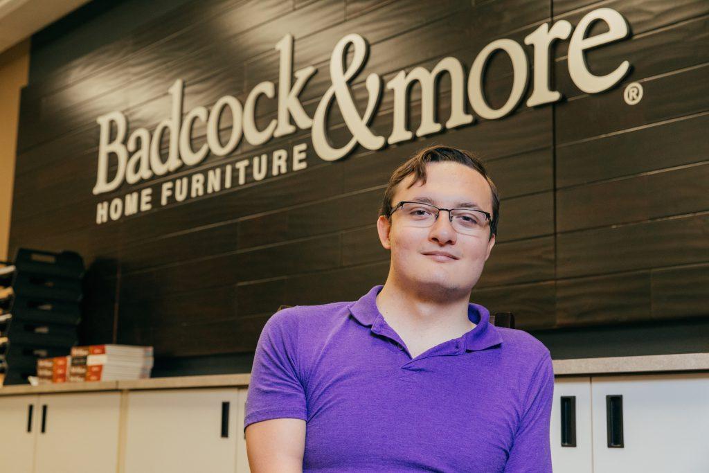 Rhett Fitchett Badcock Furniture Student Intern