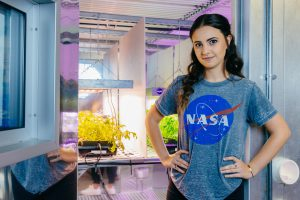 Florida Poly student interns with NASA