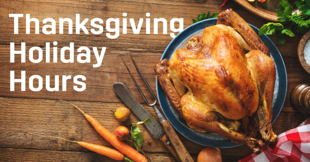 Thanksgiving break operating hours at Florida Poly