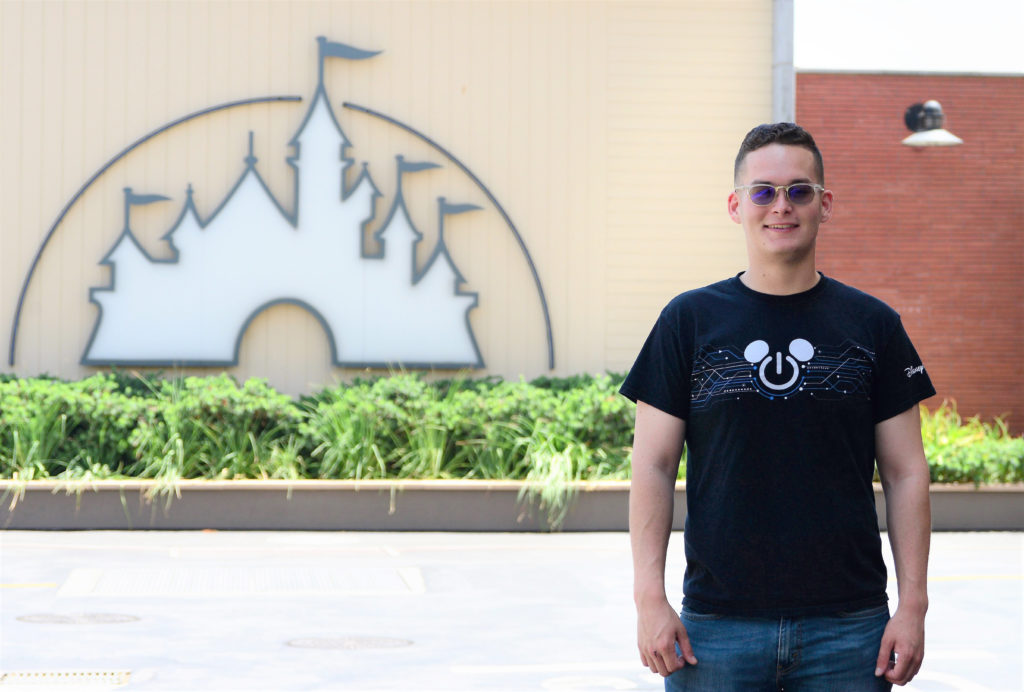 Right after graduating from Florida Polytechnic University in May 2018, Andre Goode launched his high-tech career as an associate software engineer for The Walt Disney Company in Los Angeles.