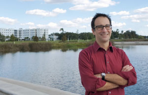 """Dr. Wylie Lenz, chair of the department of arts, humanities, and social sciences at Florida Polytechnic University, said he is excited the University is offering students a new applied liberal studies certificate. The certificate will provide students with a stronger base in communications, critical thinking, and other """"soft skills"""" desired by employers."""