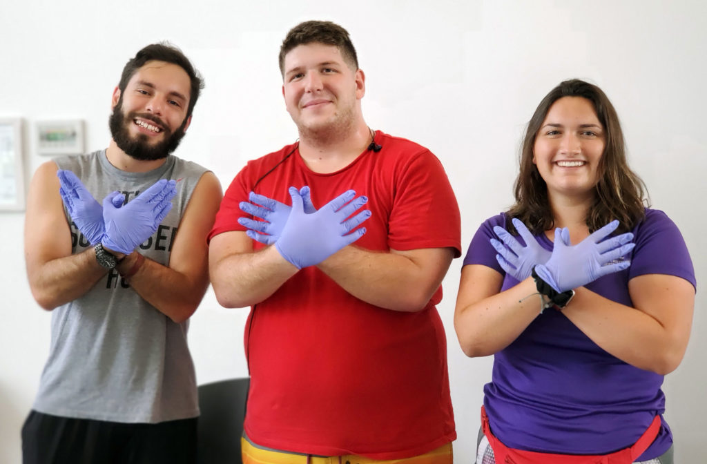 The Purple Hands Don't Haze photo project will encourage students, faculty, and staff to wear purple gloves and show their commitment to stand against hazing at Florida Polytechnic University. National Hazing Prevention Week is Sept. 23-27.