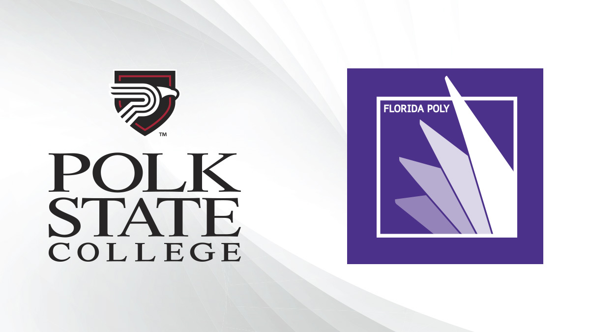 Polk State College and Florida Poly Logo