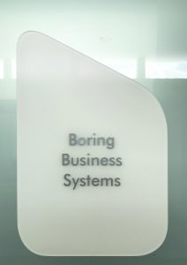 Boring Business Systems IST Campus Room