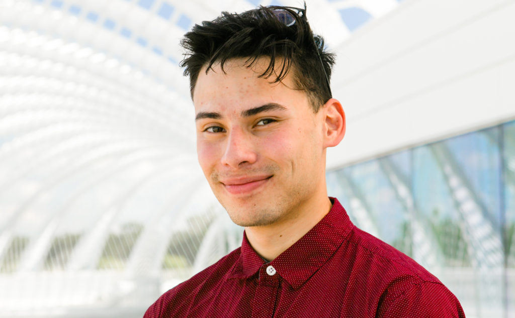 Florida Polytechnic University student Jonathan Gan is using his computer engineering skills this summer at Accusoft, a leading software company in Tampa, Florida, where he's pursuing a three-month internship.