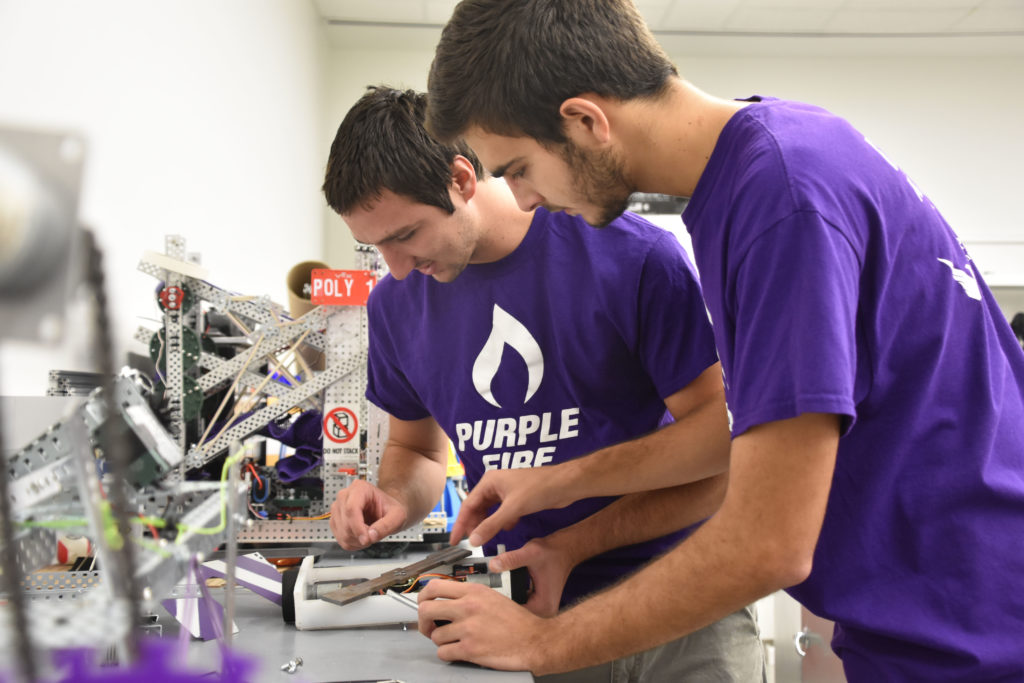 Florida Poly Purple Fire Robotics Club