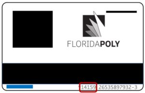 Verification PIN on FL Poly ID card