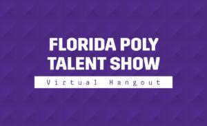 Talent show graphic.