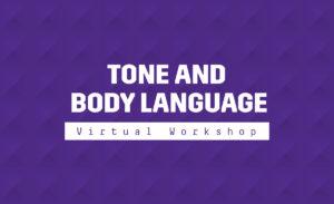 Tone and body language graphic.