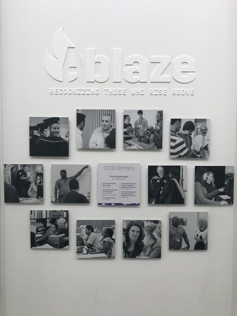 Ablaze Wall Gallery