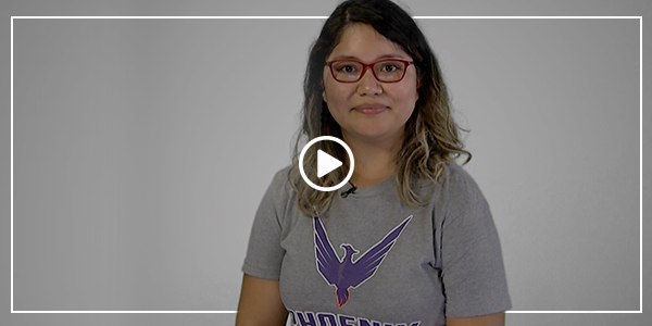 Florida Poly #ChangeMaker Veronica Perez-Herrera