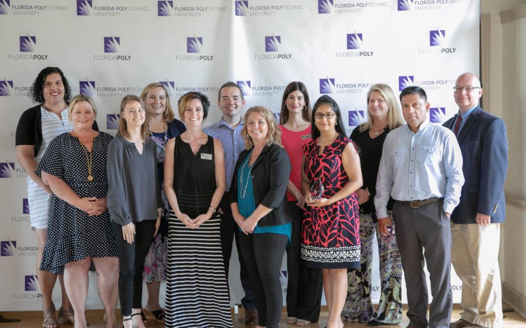 Florida Poly employee winners