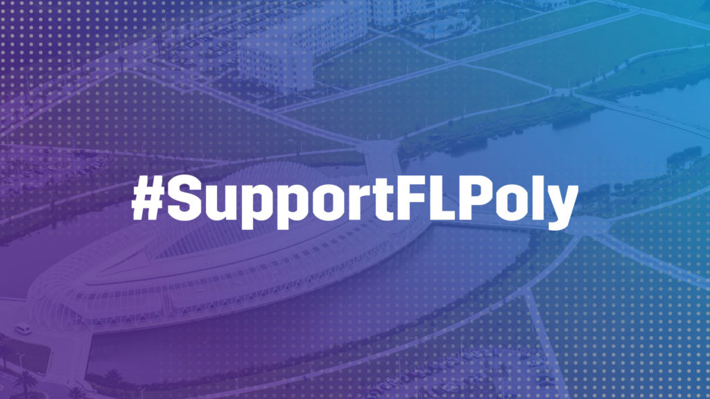 Support Florida Poly Graphic